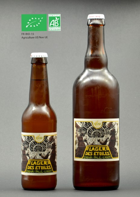 Lager des Etoiles India Pale Lager - Bio